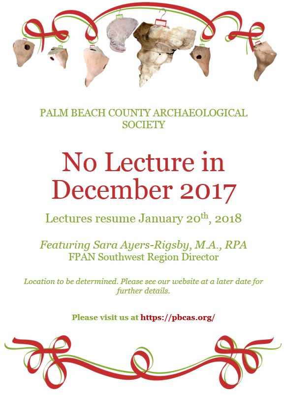 palm beach county archaeological society